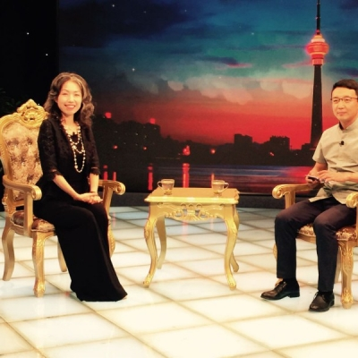 深圳左印视觉艺术创始人陈学燕做客《超越》